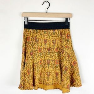 Holding Horses Anthropologie Floral Skirt